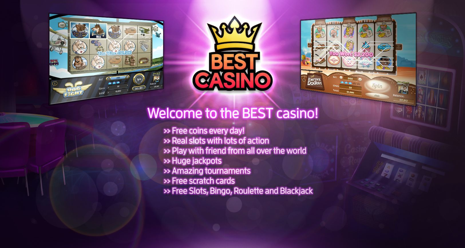 Best casino free slots bingo restaurants casino